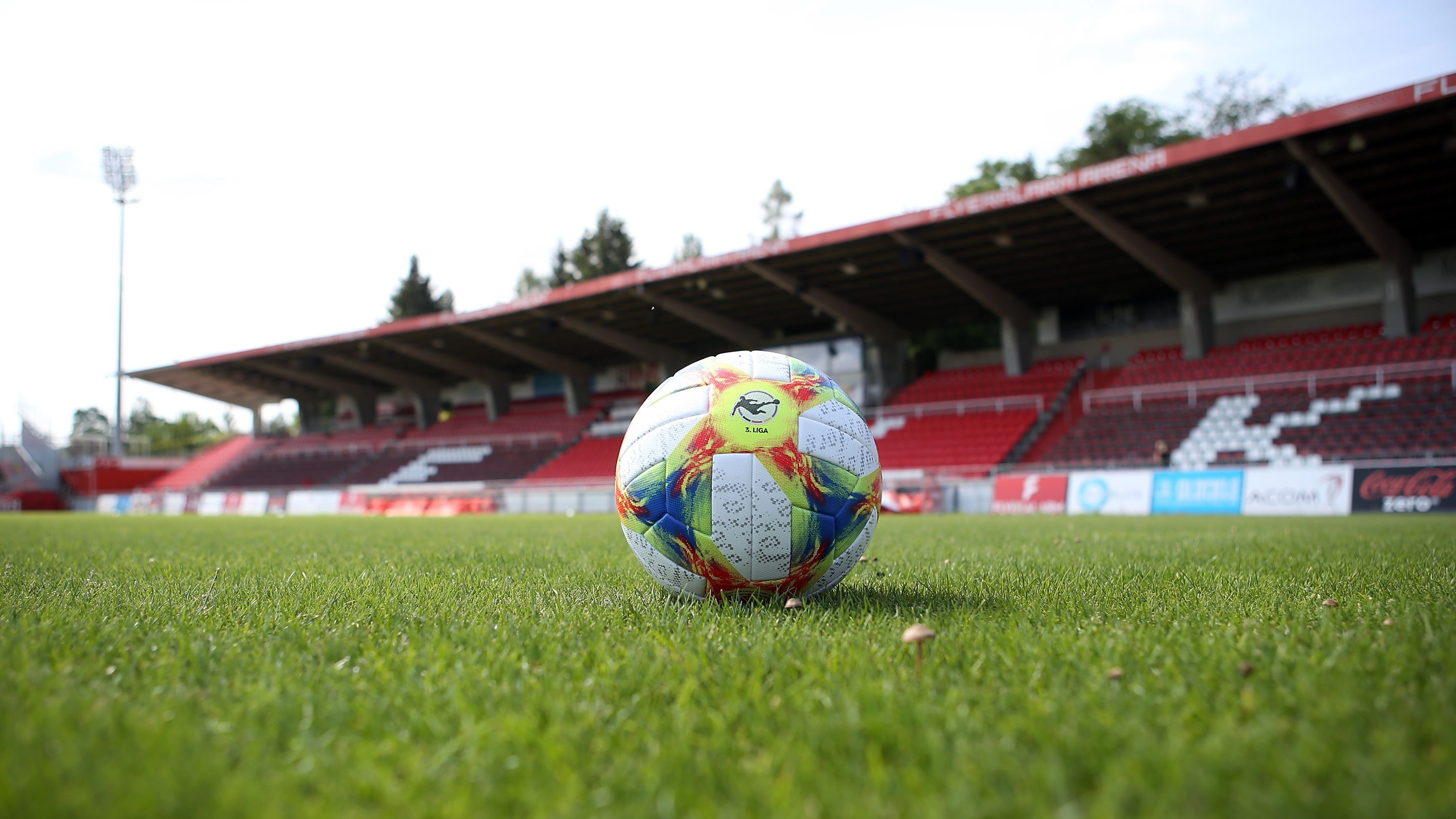 Das Stadion der Würzburger Kickers am Dallenberg
