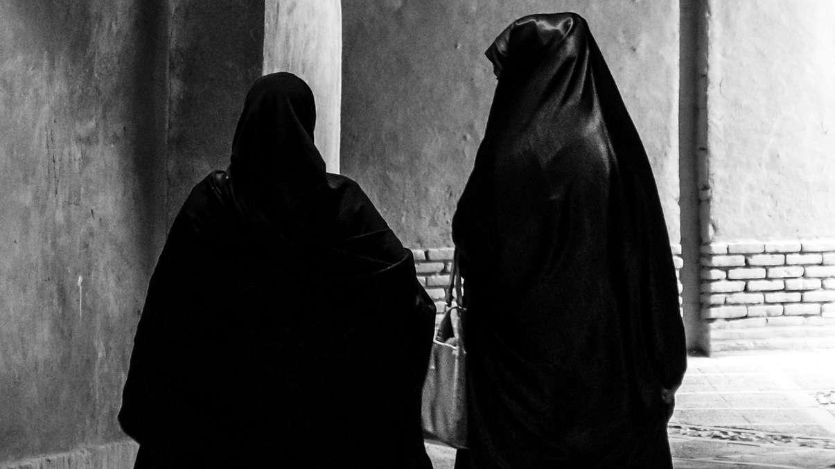 Symbolbild: Verschleierte Frauen