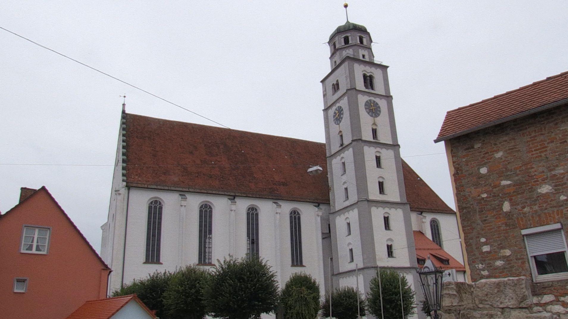 Die Stadtpfarrkirche St. Martin in Lauingen