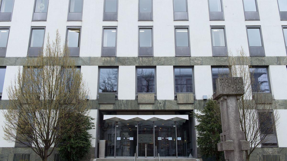 Eingangsbereich des Landgerichts in Weiden