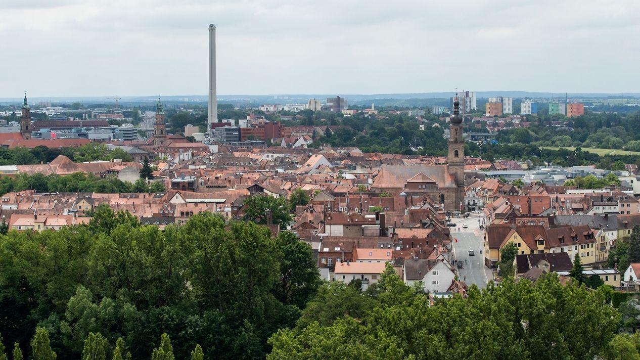 Stadtansicht von Erlangen