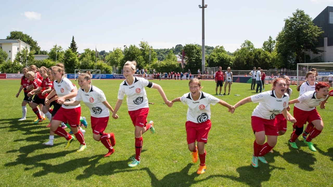 Teilnehmer bei der Fußballiade 2015
