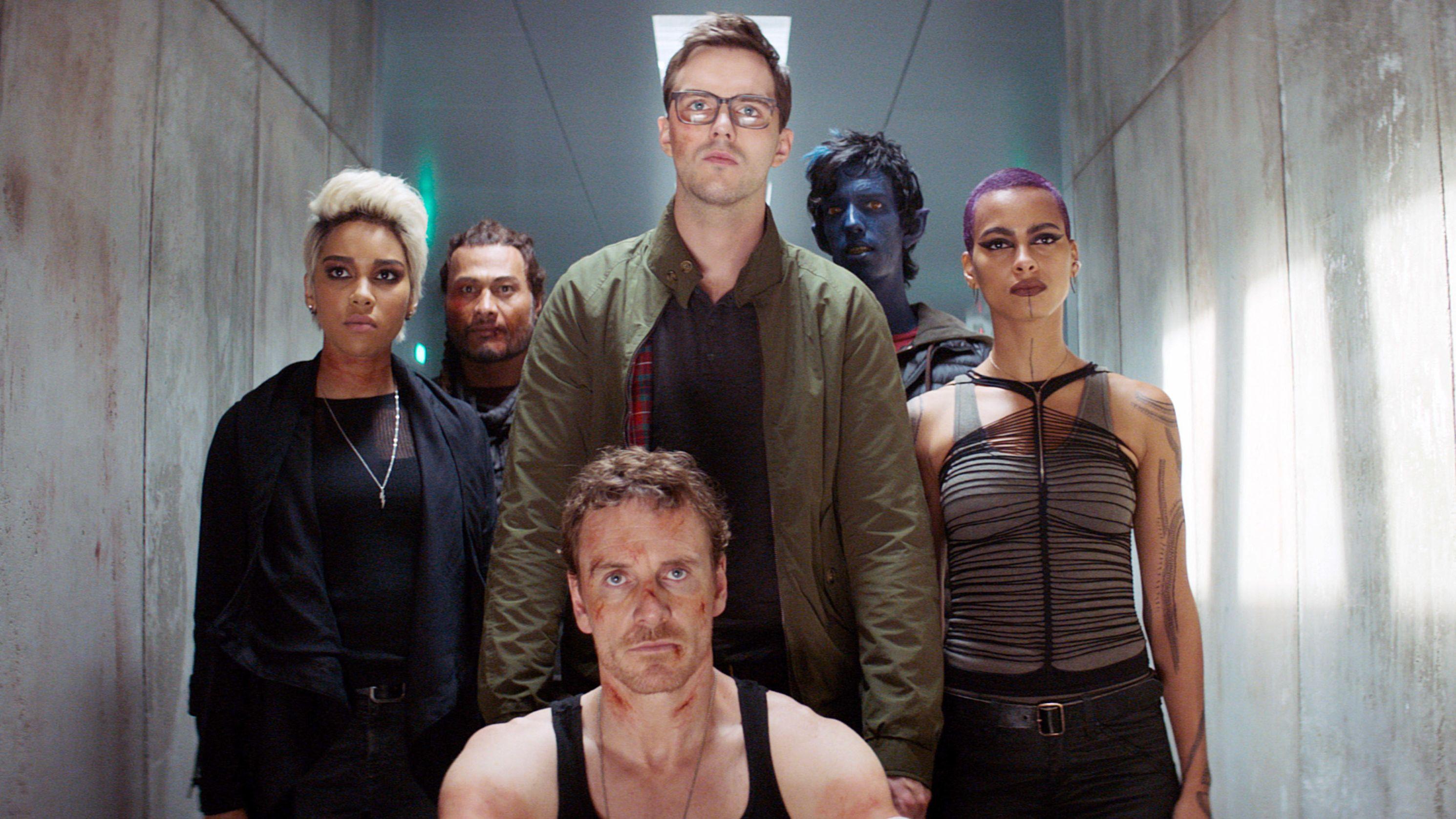 Sechs Schauspieler aus dem X-Men-Film