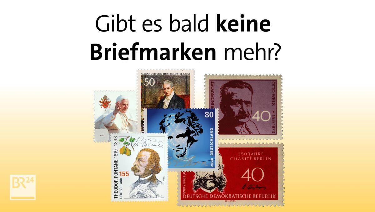 #fragBR24💡 Gibt es bald keine Briefmarken mehr?