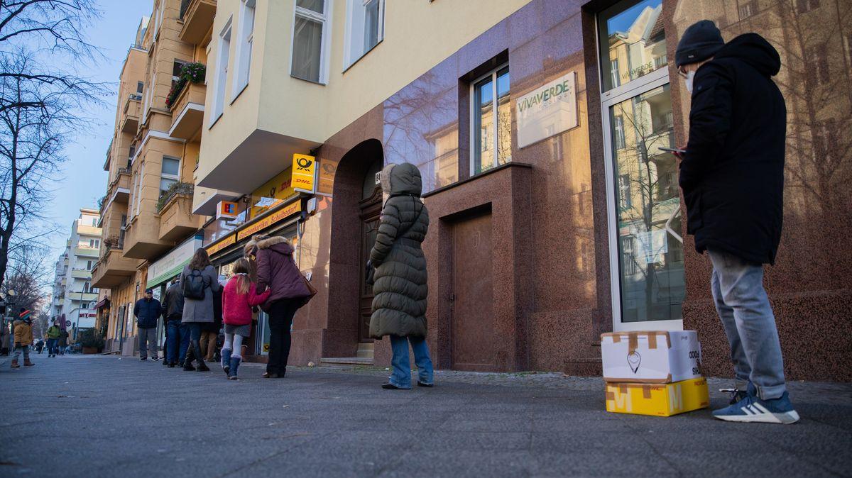 Postfiliale in der Innenstadt