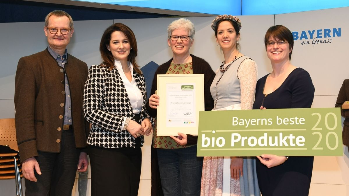 Verleihung Bayerns beste Bioprodukte auf der Grünen Woche Berlin