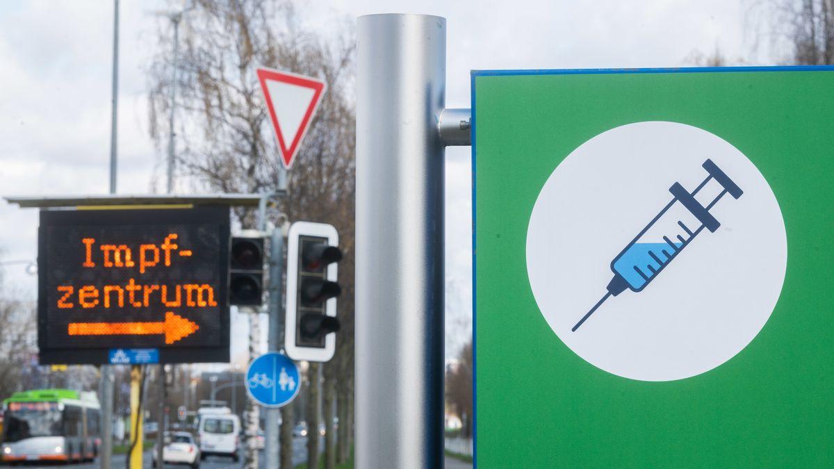 Ein Impfzentrum in Hannover.