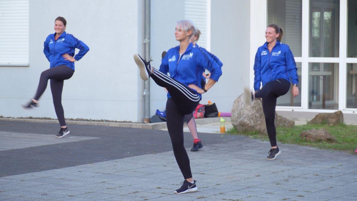 Die Faschingsgesellschaft Narrhalla übt bereits ihre Tänze