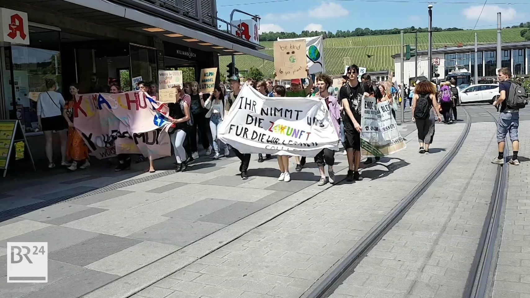 """Fridays for Future""-Demo am 7. Juni in Würzburg"