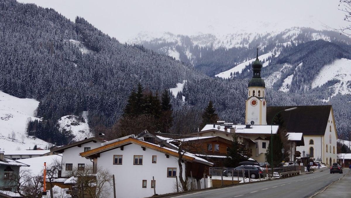 Die Gemeinde Jochberg im Bezirk Kitzbühel in Tirol.