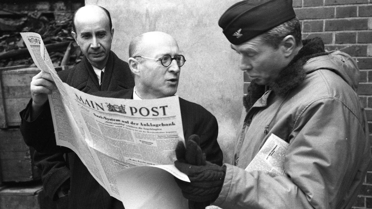 1945 Main-Post Erste Ausgabe