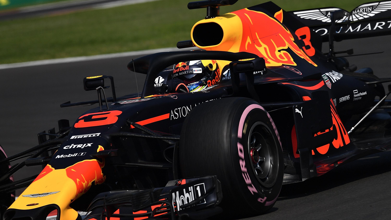 Daniel Ricciardo startet beim Großen Preis von Mexiko von der Pole