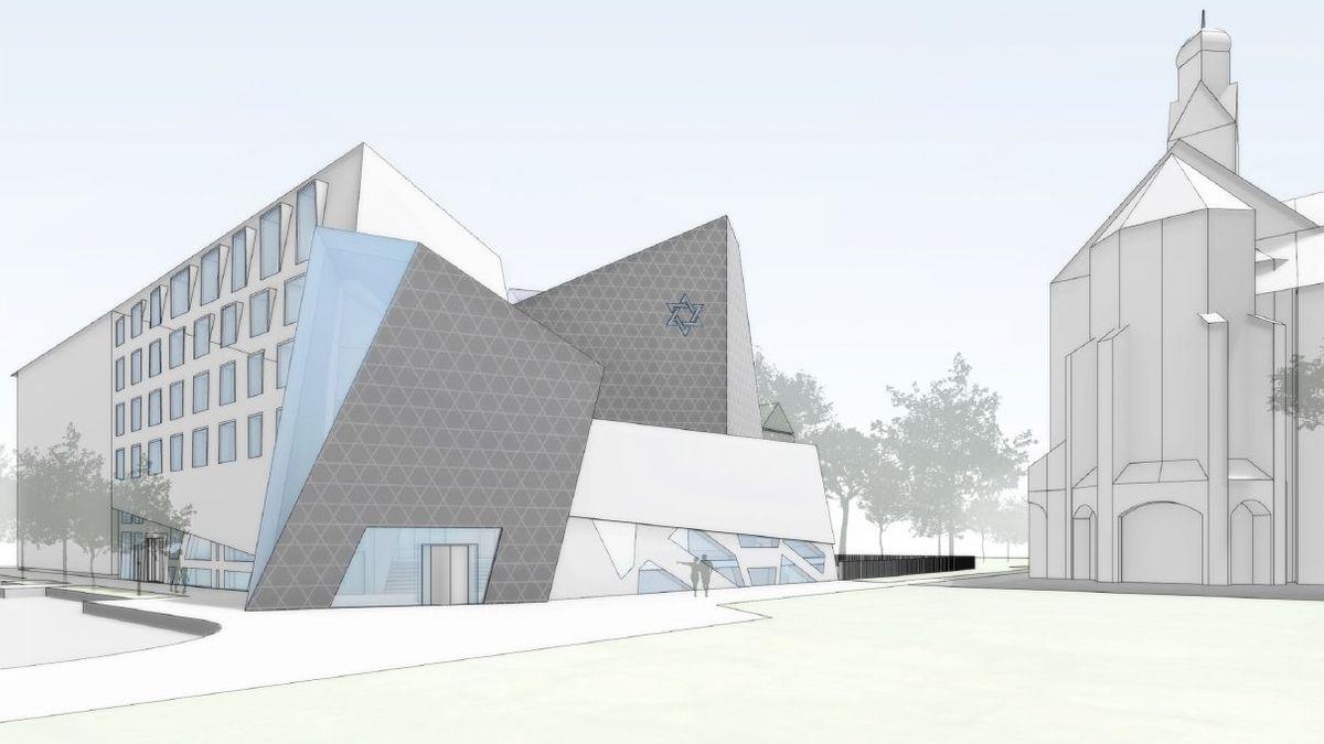 Libeskind-Synagoge für München