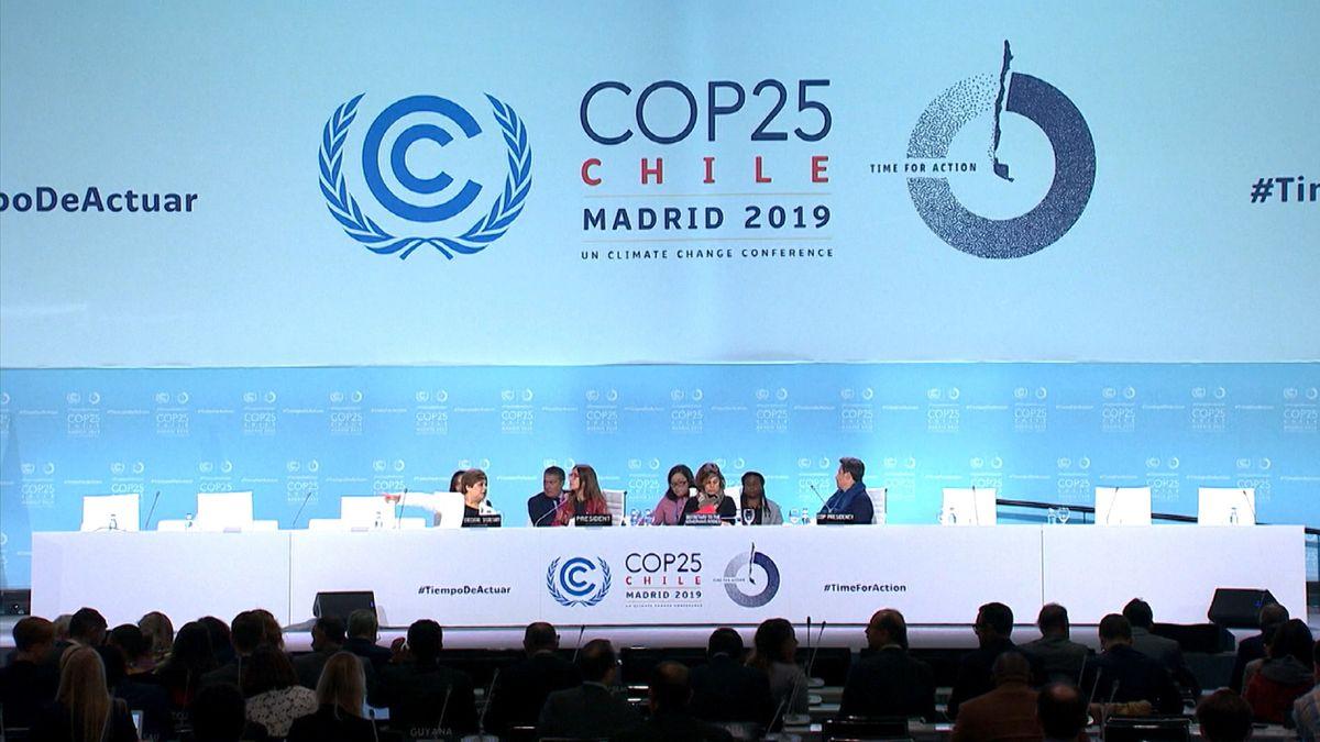 Klimakonferenz 2019 in Madrid.