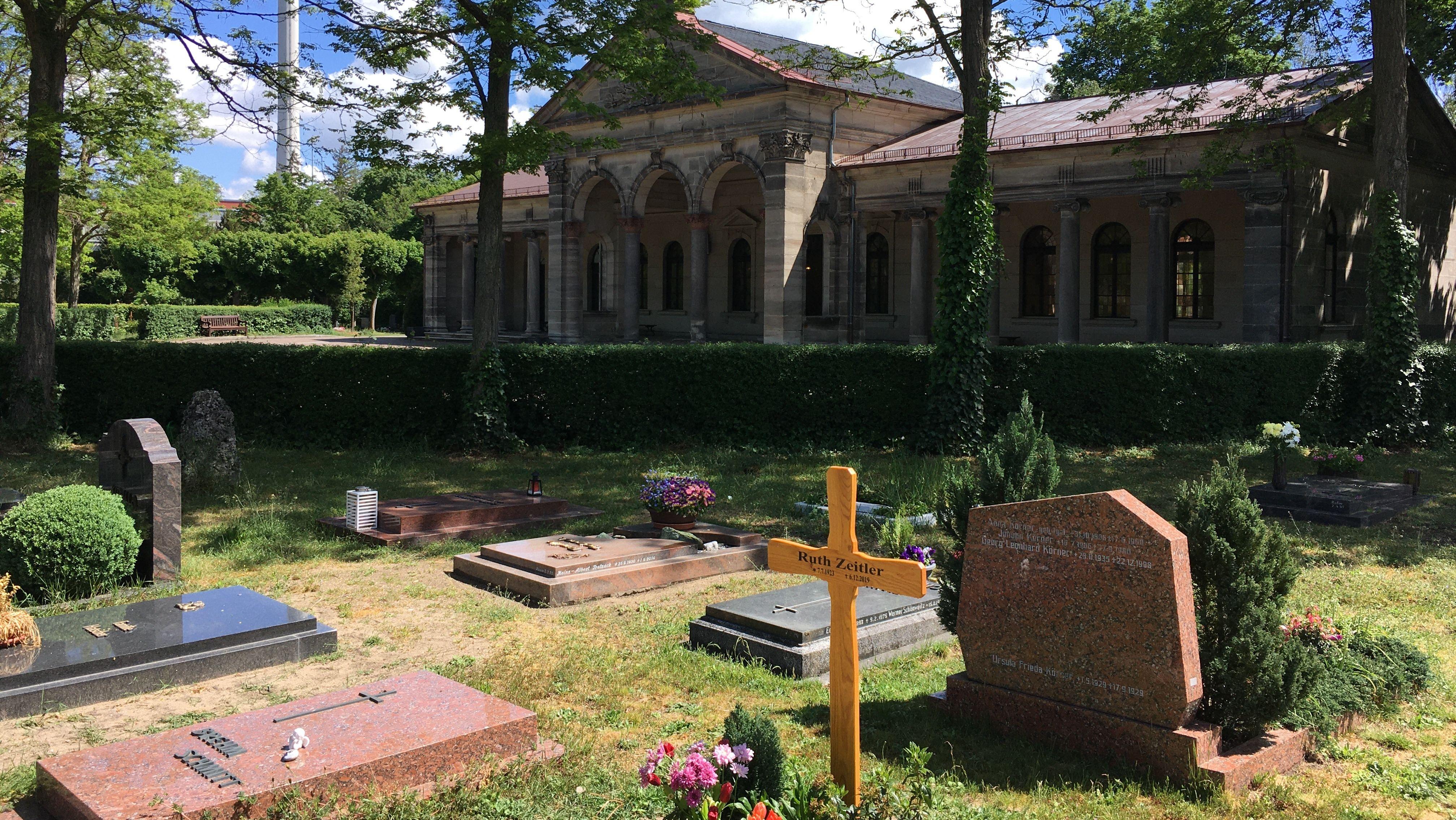 Friedhof in Franken