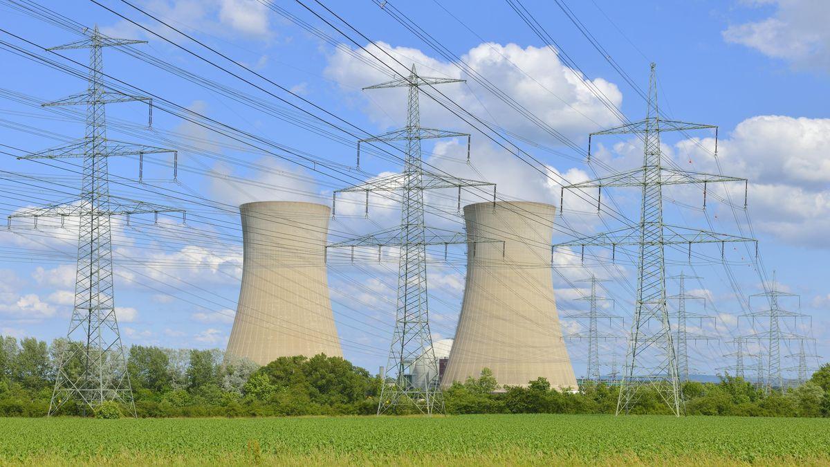 Das stillgelegte Kernkraftwerk Grafenrheinfeld