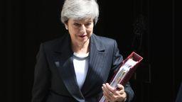 Theresa May   Bild:dpa / Stefan Rousseau