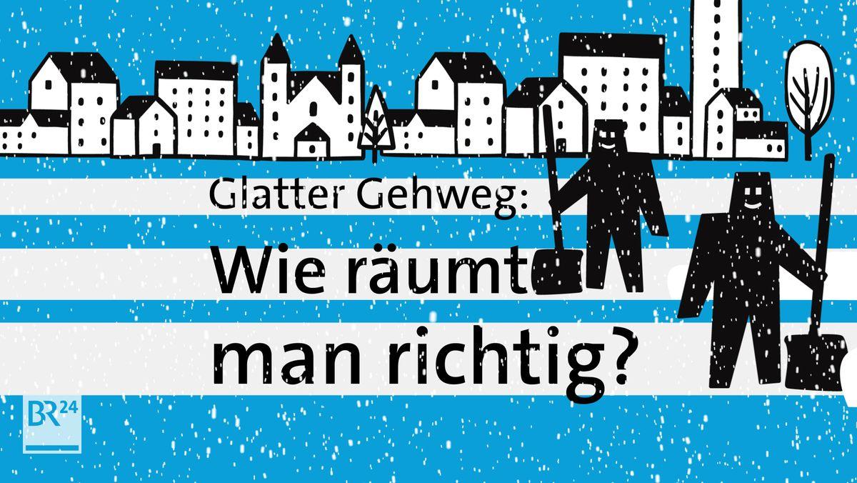 #fragBR24💡 Wie räumt man richtig Schnee?