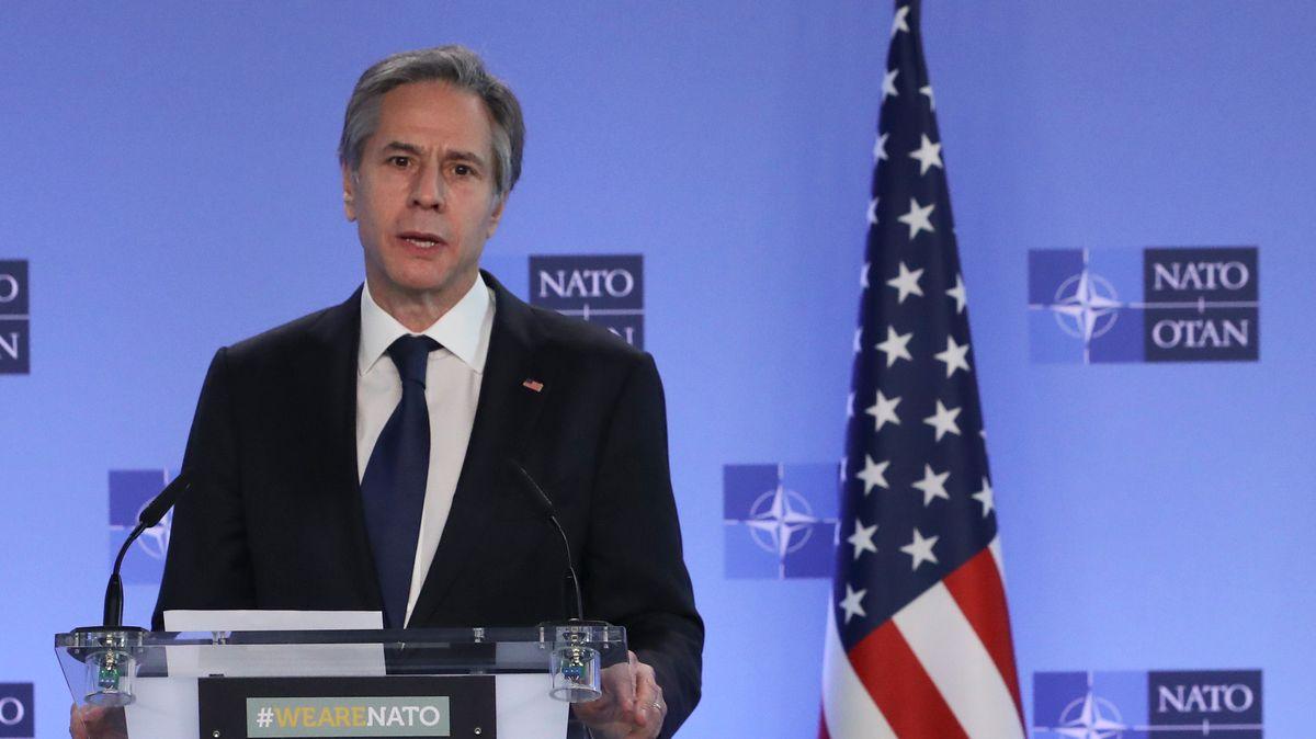 Antony Blinken in Brüssel
