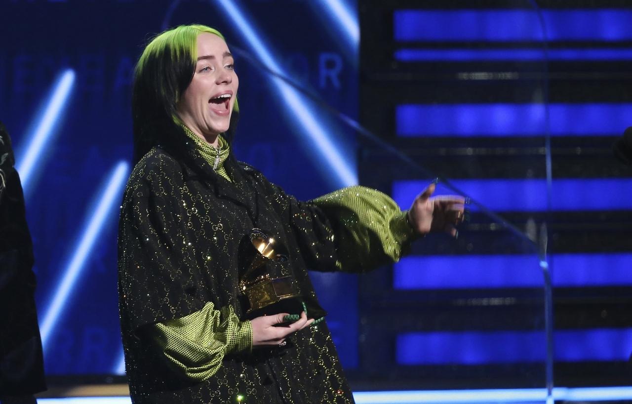 Vier Preise für 18-Jährige: Billie Eilish dominiert Grammy-Verleihung