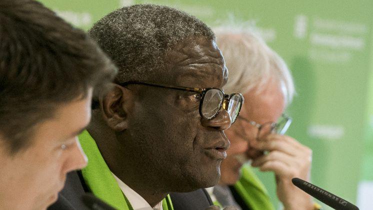 Friedensnobelpreisträger Dr. Denis Mukwege auf dem Kirchentag 2019