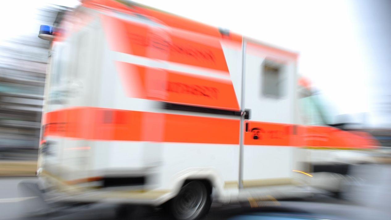Rasender Krankenwagen