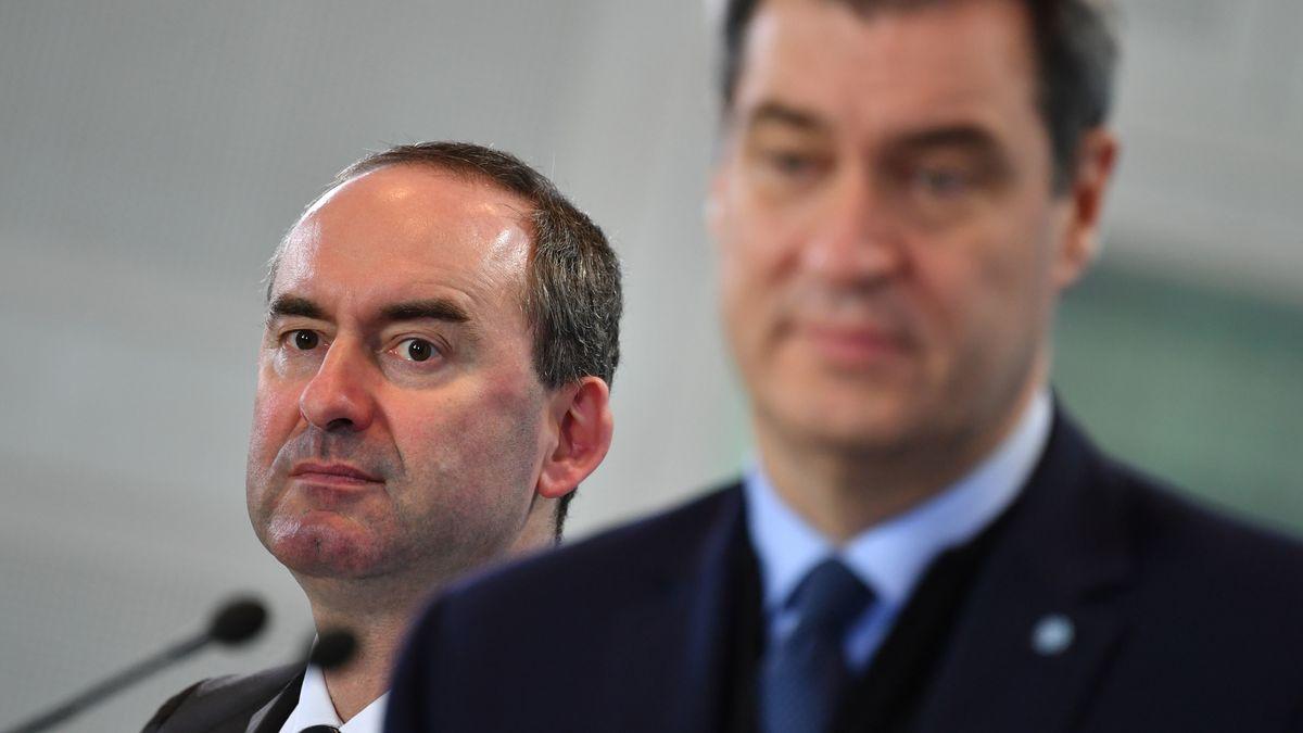 Zoff in der Koalition: Aiwanger beklagt Gemeinheiten aus der CSU