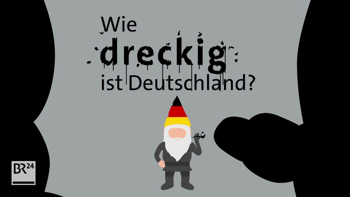 Grafik Wie dreckig ist Deutschland?