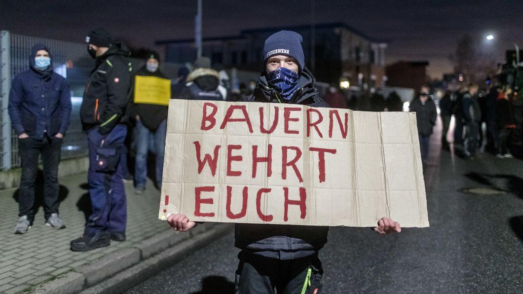 Landwirte demonstrieren in Schleswig-Holstein