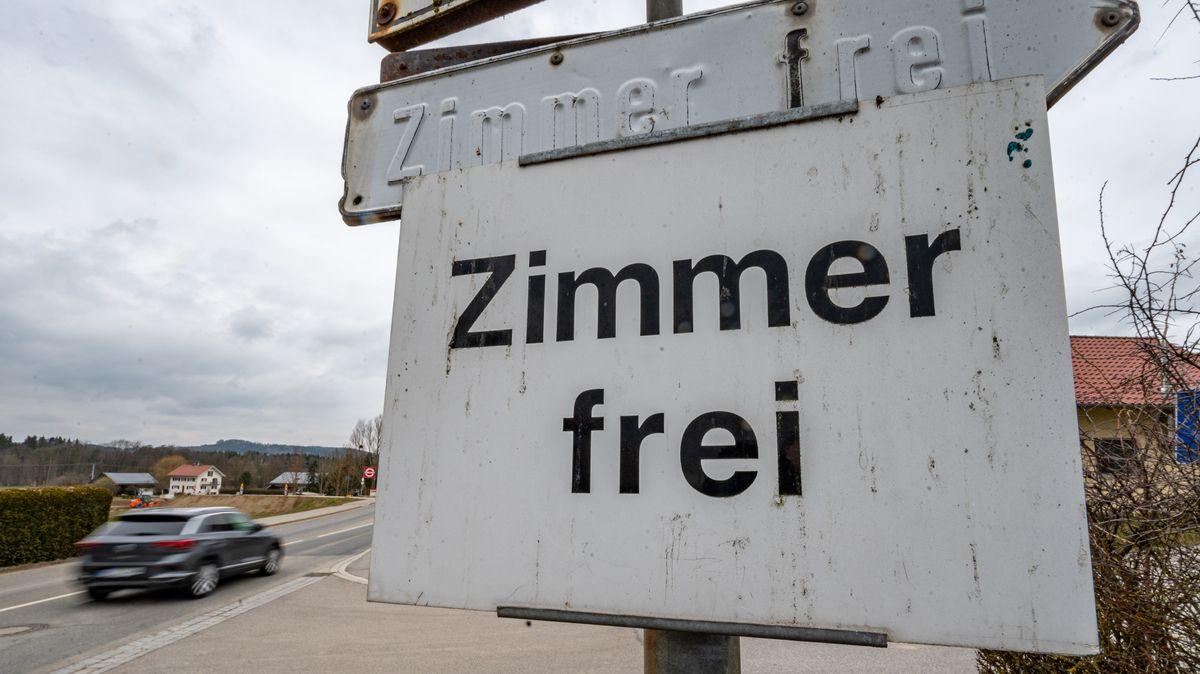 """Symbolbild """"Zimmer frei"""""""