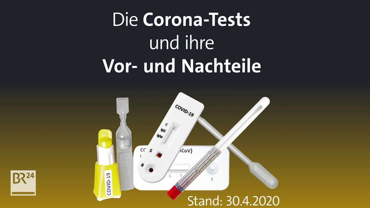 PCR-Tests, Antikörpertests, Schnelltests. Viele Arten von Tests sind in Umlauf, mit denen eine akute Infektion mit Covid-10 beziehungsweise eine überstandene Infektion festgestellt werden kann. Wie funktionieren die einzelnen Tests?