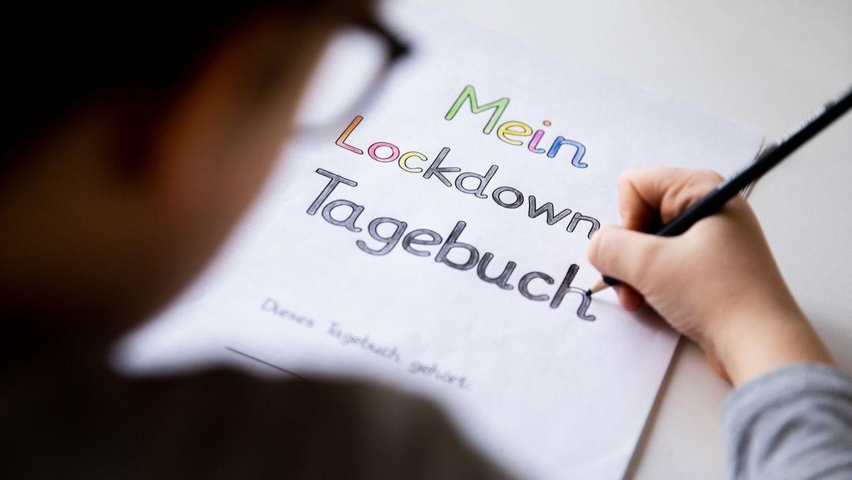 """Kind schreibt """"Lockdown-Tagebuch"""""""