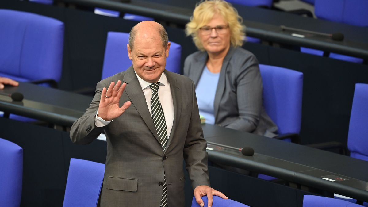 Bundesfinanzminister Olaf Scholz und Bundesjustizministerin Christine Lambrecht