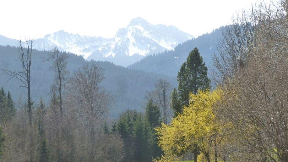 Archivbild der Klammspitze aus dem Frühjahr.