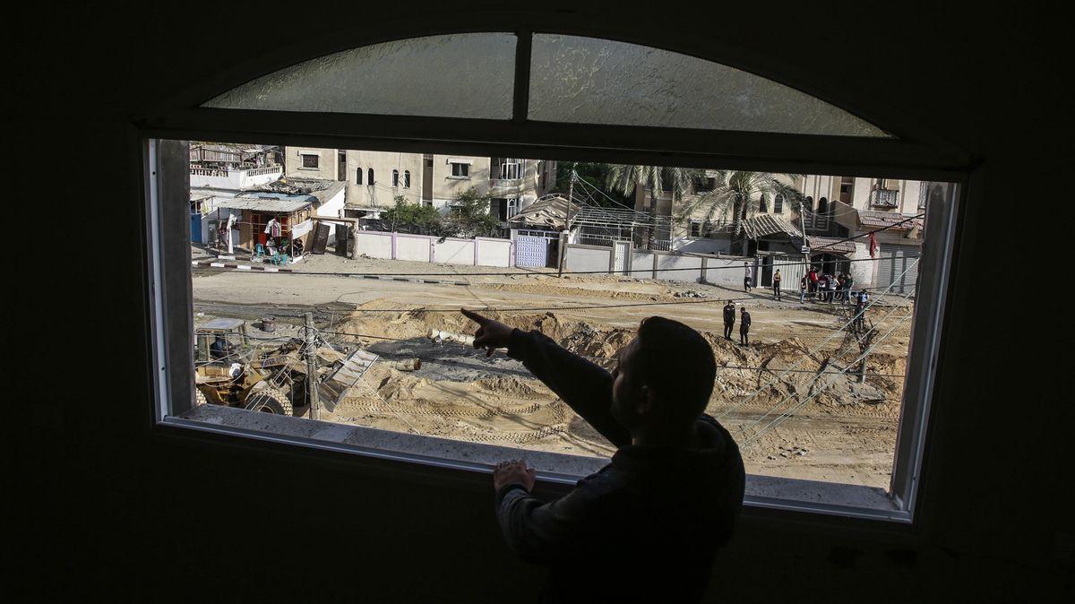 Zerstörungen in Gaza.