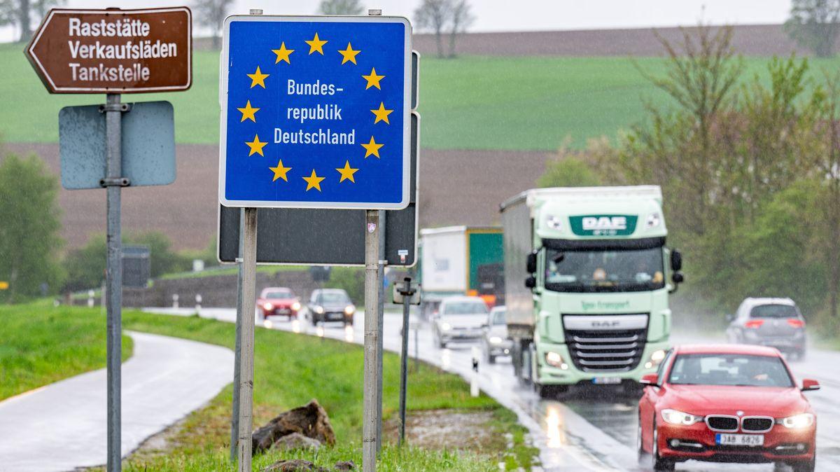Grenzübergang Furth i. Wald 2021