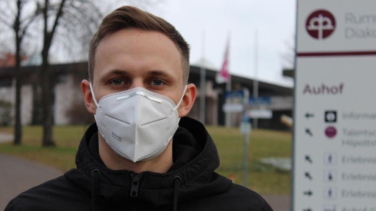 Andreas Freund, Heilerziehungspfleger am Auhof in Hilpoltstein