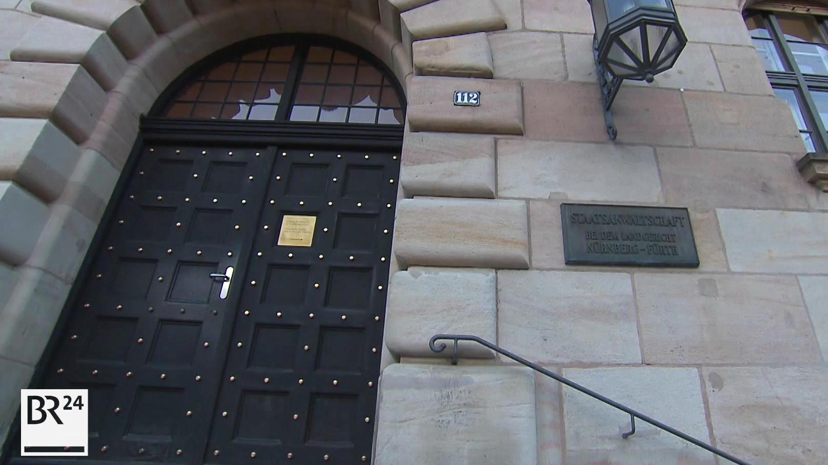 Eingang der Staatsanwaltschaft Nürnberg-Fürth