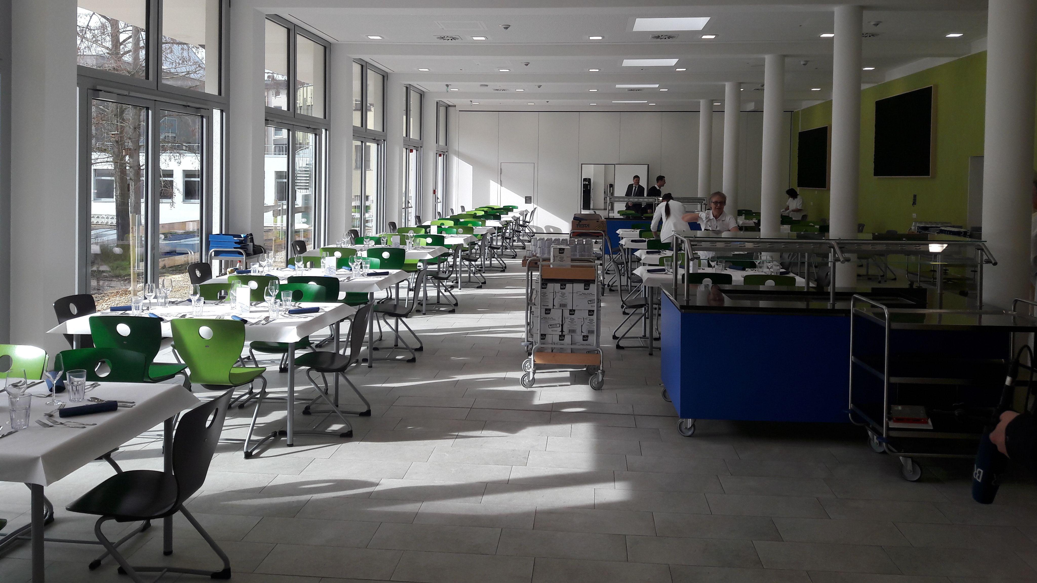 Der neue Speisesaal der Regensburger Domspatzen