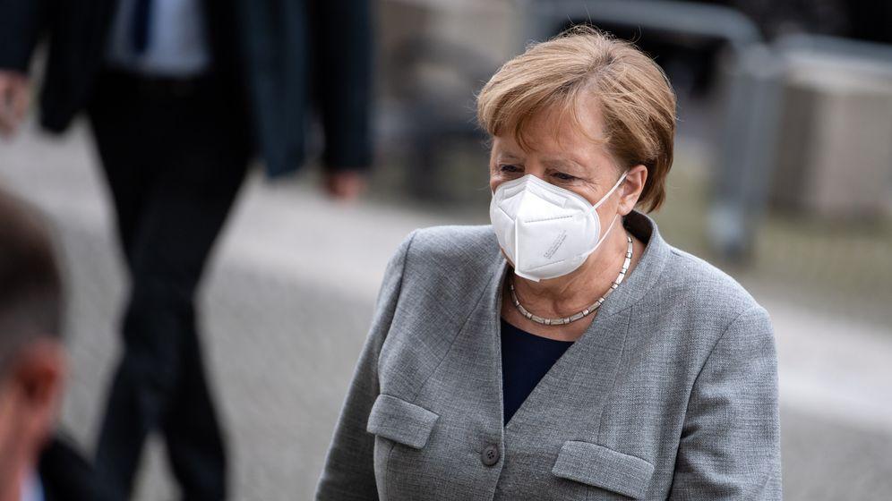 Bundeskanzlerin Angela Merkel | Bild:pa/dpa/Bernd von Jutrczenka