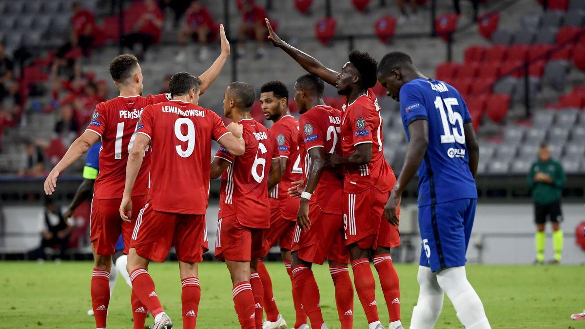 Bayern feiert, Enttäuschung bei Chelsea