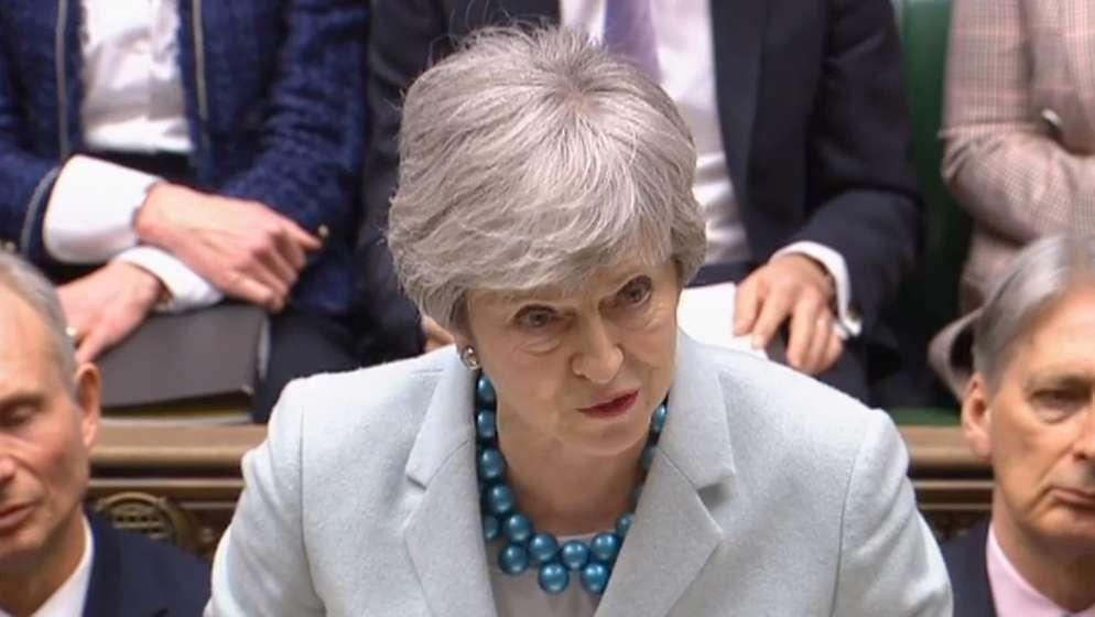 Theresa May   Bild:dpa-Bildfunk