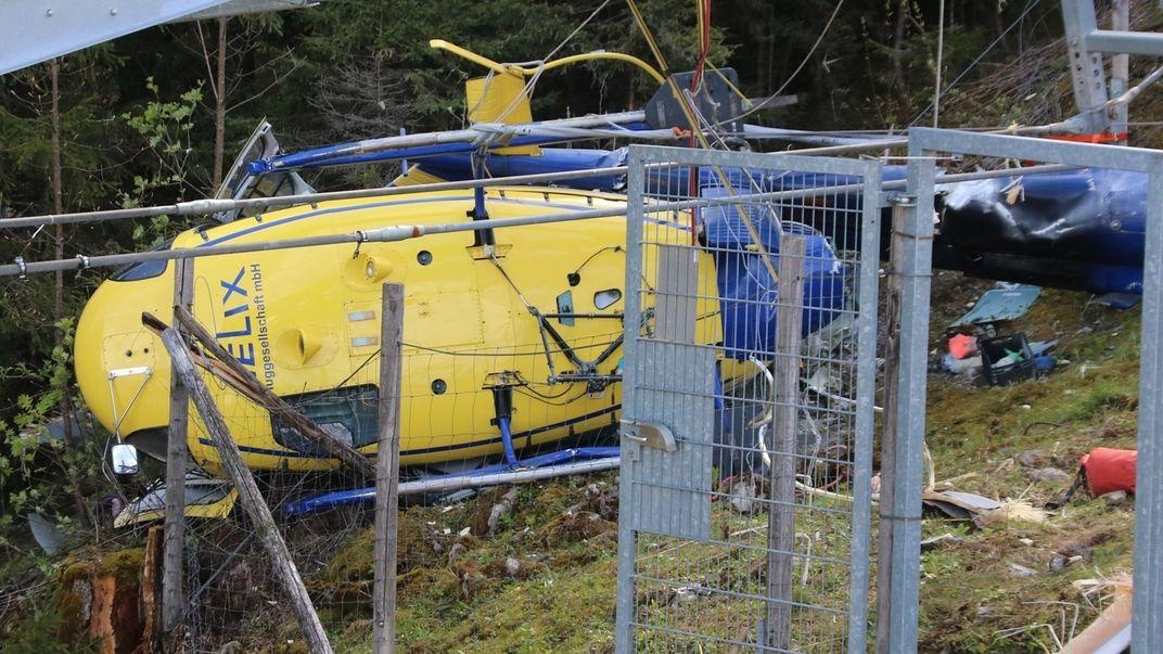 Hubschrauberabsturz Oberstdorf