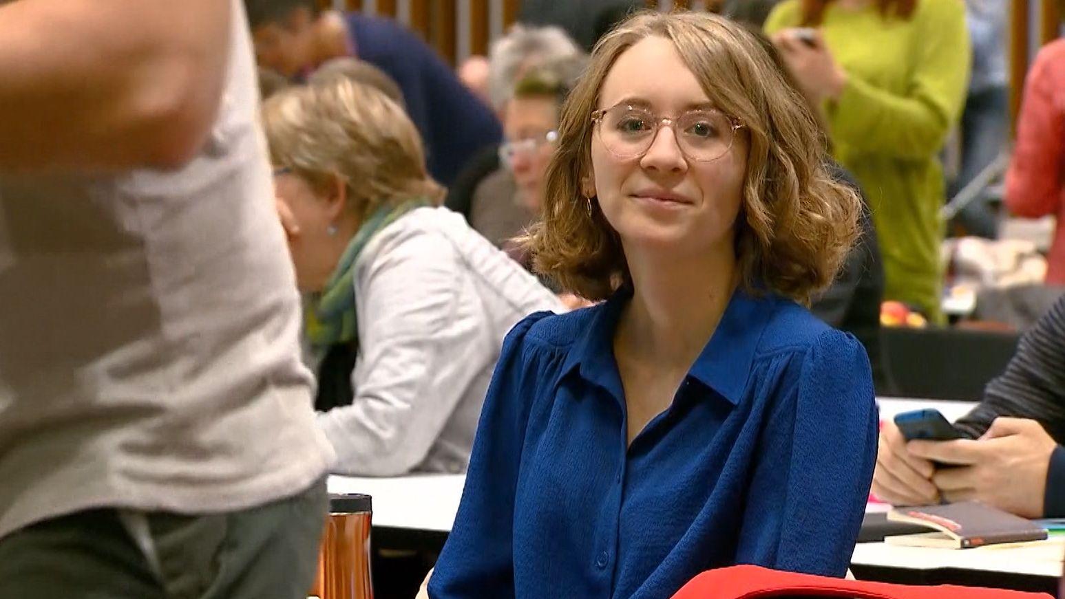 Eva Lettenbauer, neue Landesvorsitzende der bayerischen Grünen