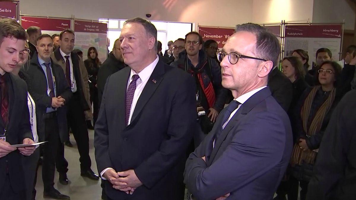 US-Außenminister Mike Pompeo und der deutsche Außenminister Heiko Maas