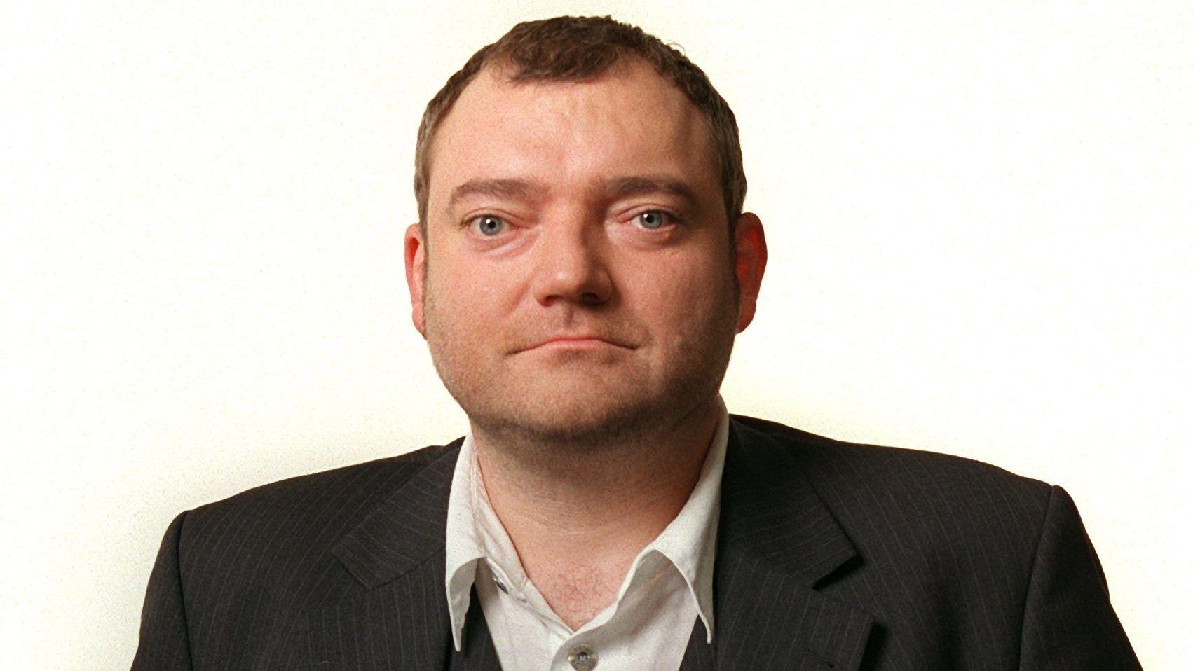 Der Satiriker, Journalist und Buchautor Wiglaf Droste im Oktober 2002