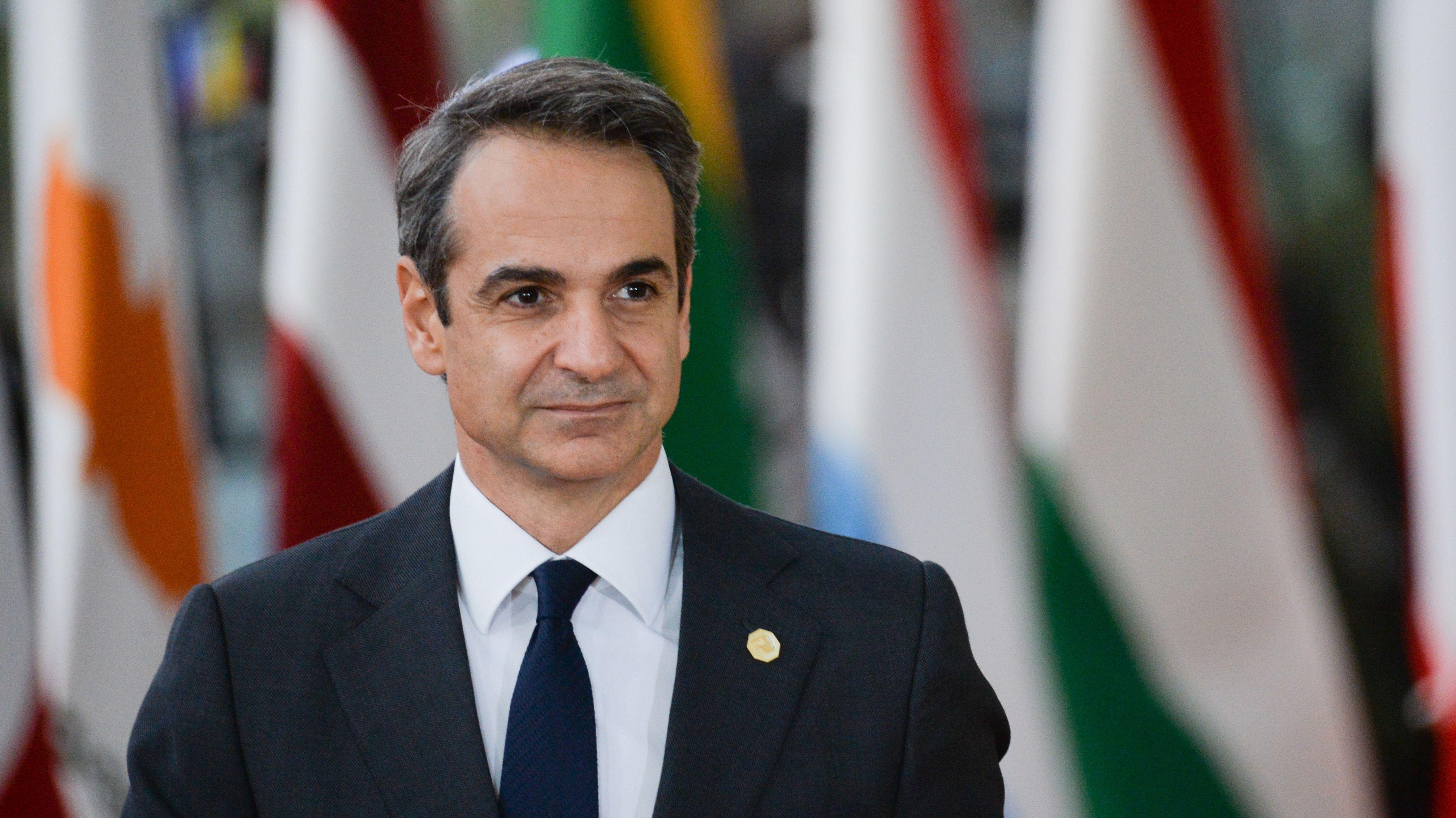 Der griechische Ministerpräsident Kyriakos Mitsotakis droht, eine Friedensvereinbarung für Libyen zu blockieren