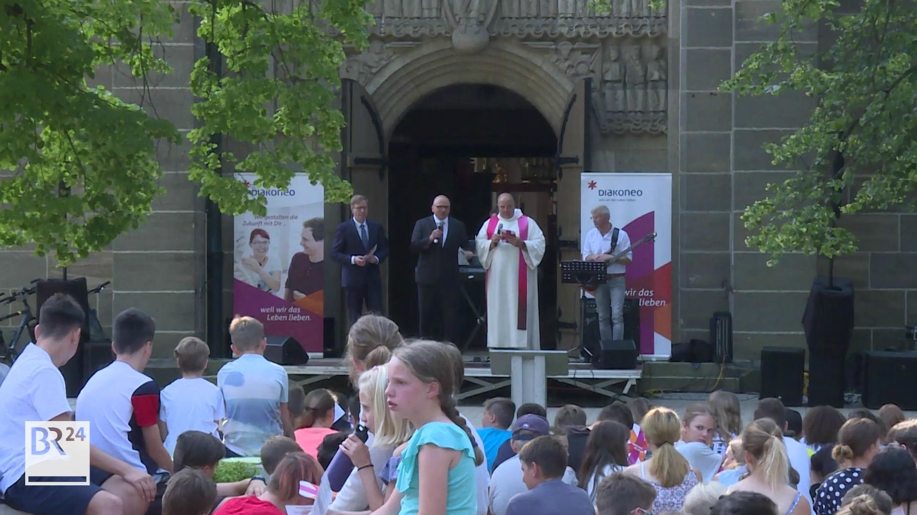 Andacht zur Fusionierung der beiden Diakonien Neuendettelsau und Schwäbisch Hall