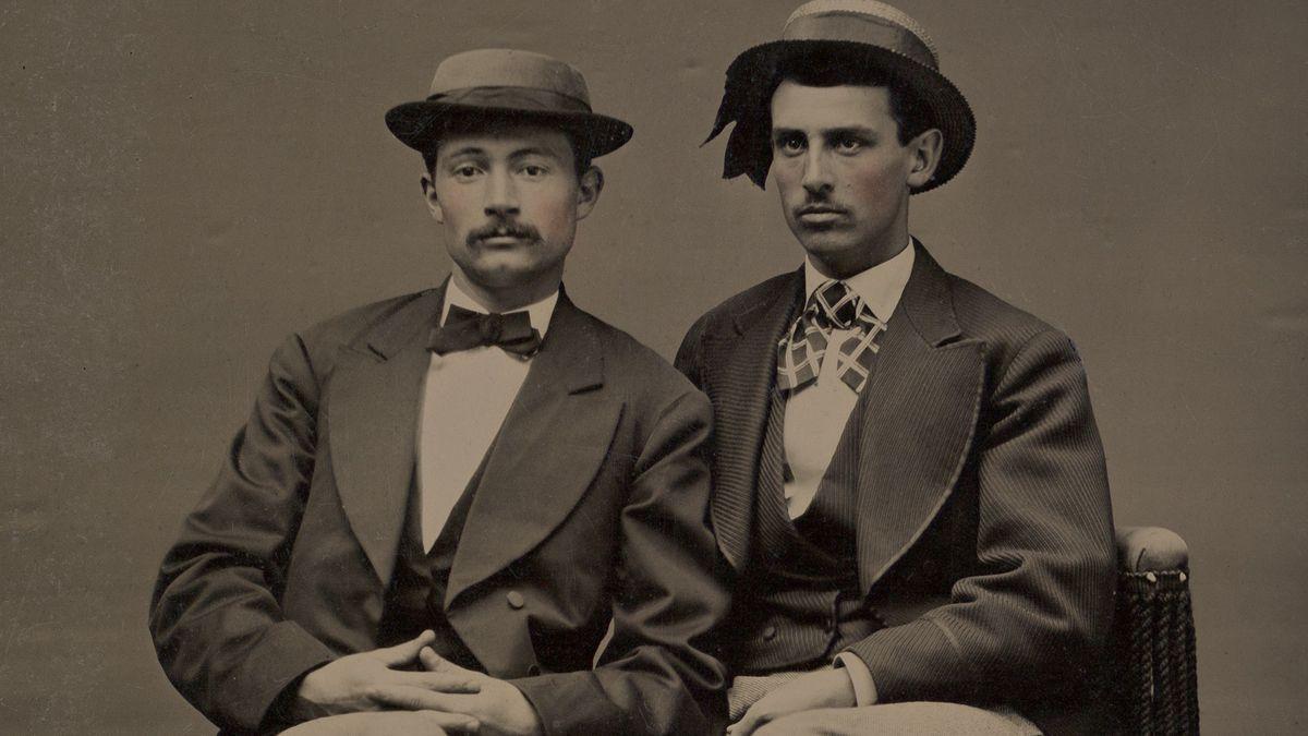 Zwei Männer mit Hut