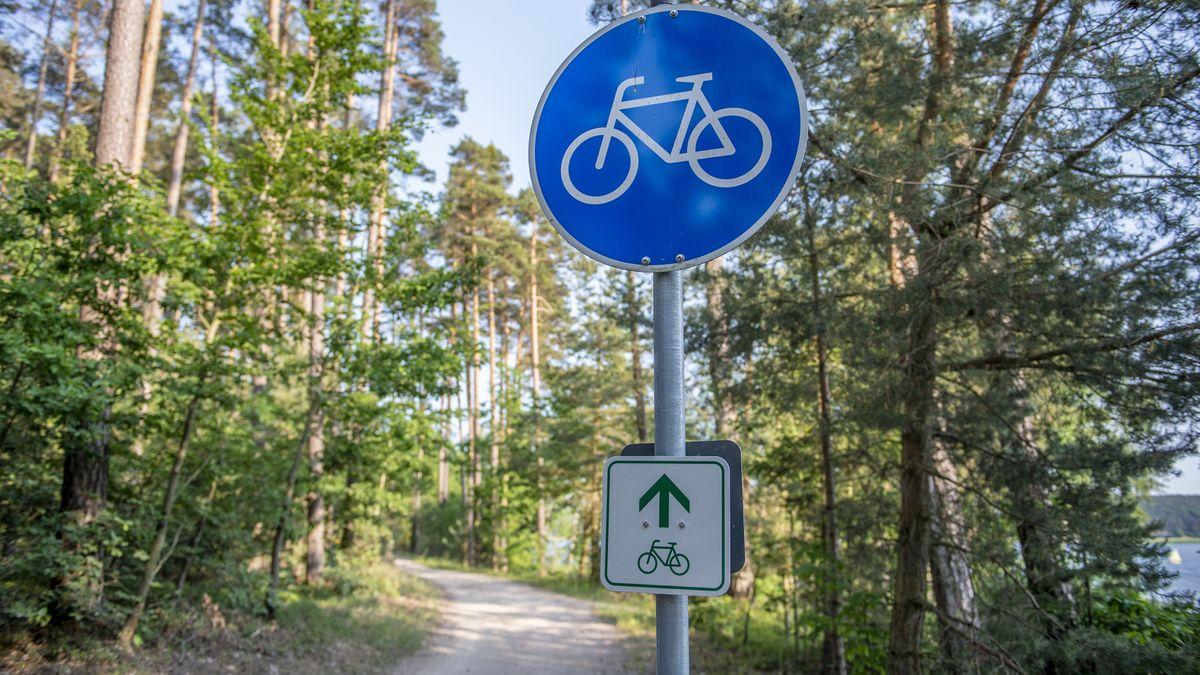Symbolbild Fahrradweg